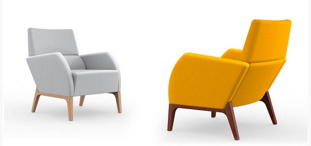Butaca new paris de doos nobel muebles for Butacas para barras en madera