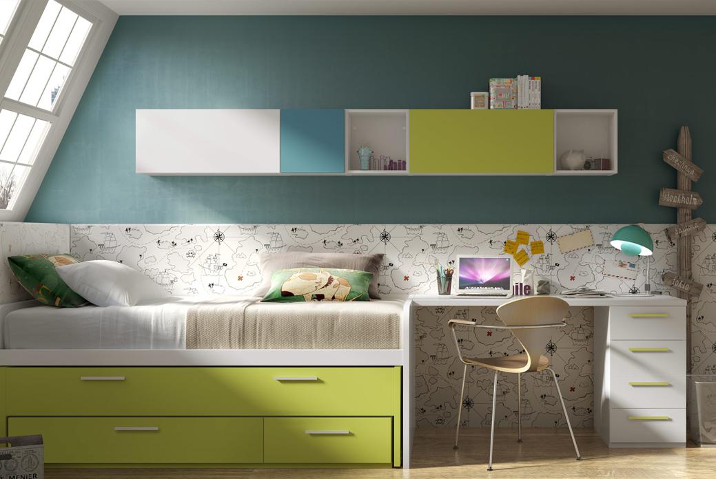 Dormitorios juveniles de hermida nobel muebles for Muebles hermida